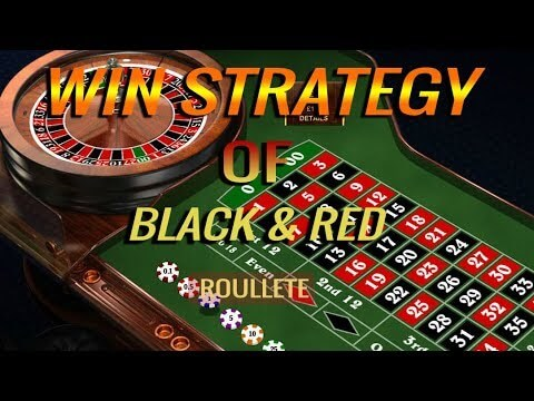 Roulette Strategy of Red and Black